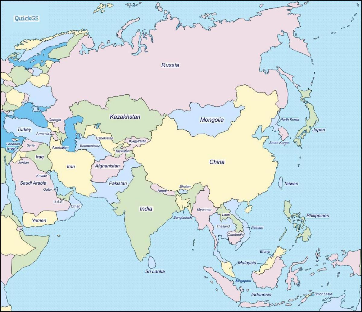 Kartta Burman Ja Ymparoivien Maiden Kartta Myanmarin Ja